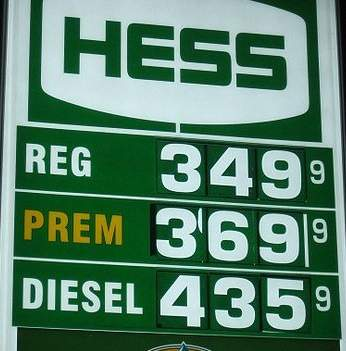 gas prices sign, photo by Rene Schwietzke -CC