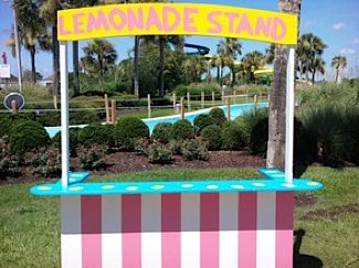 lemonade stand on Jekyll Island park (park photo_
