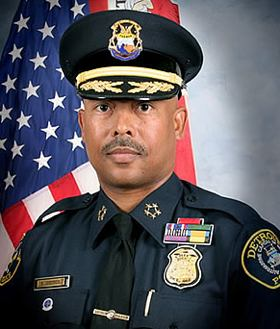Detroit police chief, Ralph Godbee