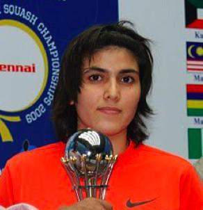 Junior Squash champion, Maria Toorpakai