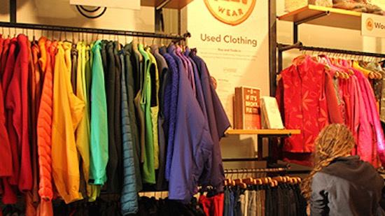 Patagonia used clothing