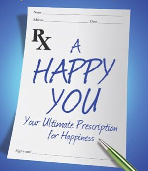 A Happy You perscription - book cover