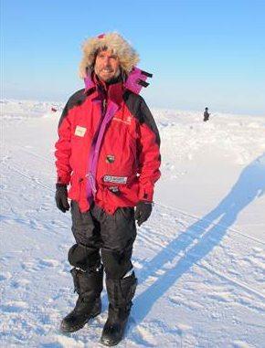 Arctic adventurer Mike Scholes, adventurer
