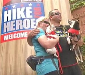 Hike Hero on stage - WDRB video