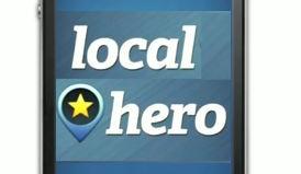 iPhone local hero app