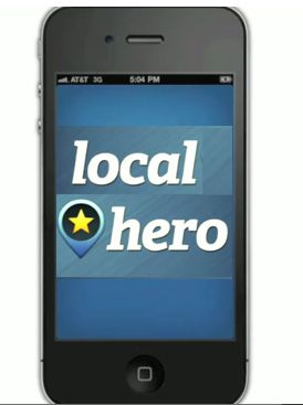 iPhone local hero app
