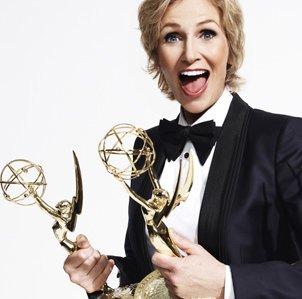 Jane Lynch, Emmy host, photo by Fox