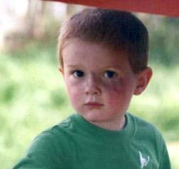 Kienan Hebert is home safe after abductor has change of heart