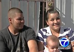 kidnapper hero with family -KOAT video clip