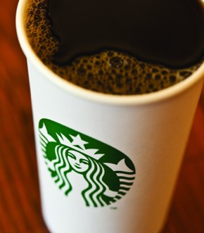 Starbucks recycled cup