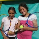 Jews and Arabs play tennis in Israel -Freddie Krivine Foundation