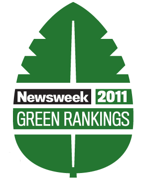 Green Rankings Newsweek 2011