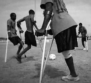 Haiti Amputee Soccer team