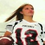 Homecoming queen is football star, too - Fox video clip
