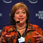 Margery Kraus, CEO of Apco, from World Economic Forum