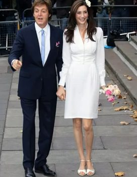 Mccartney weds for third time