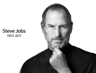 Steve Jobs Tribute on the Apple home page