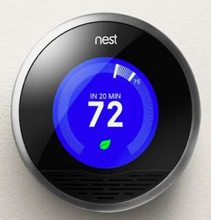 Thermostat Nest brand by iPod engineers
