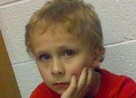 autistic boy found - family photo