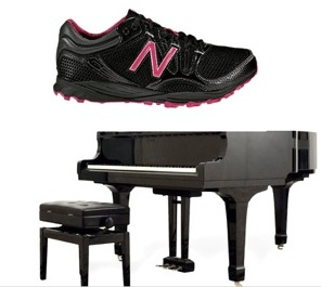 sneakers and pianos made in USA