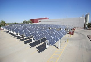 solar rooftop at Frito Lay plant