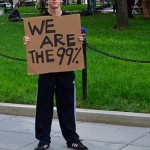 The 99% - Occupy DC Protester by Chris Wieland