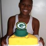 Sweet Blessings birthday cake for sports fan
