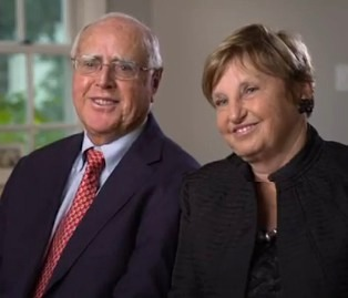Bob King and Dorothy, philanthropists for Stanford
