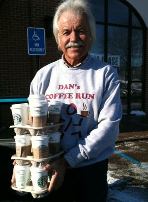 Dans Coffee Run Facebook photo