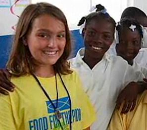 Girl, 12, builds 27 homes in Haiti - NBC video snapshot
