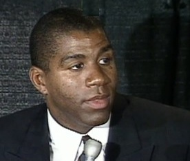 Magic Johnson HIV Press Conference