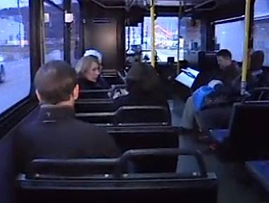 bus passengers CBC News video