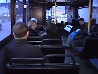 bus passengers CBC News video
