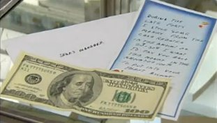 money and note paid back to Sears - KSNW video clip
