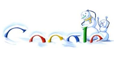 Google snow doodle