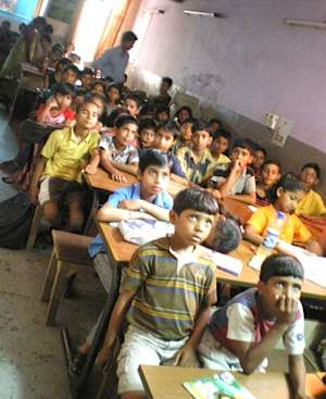 India classroom - Sunshine Project
