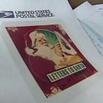Letters to Santa Post office note