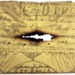 Santa letter found in chimney