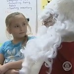 Santa surprises daughter with homecoming -CBS video