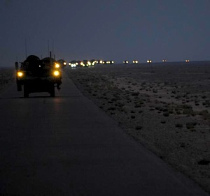 soldiers leave Iraq - DOD photo