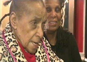 101-yo Texana evicted but saved - WDAM video clip