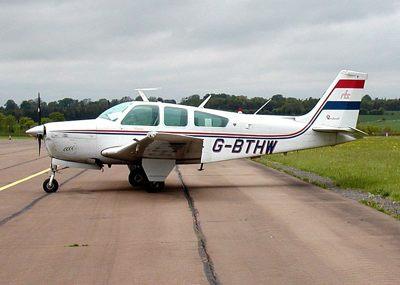 Beechcraft plane bonanza