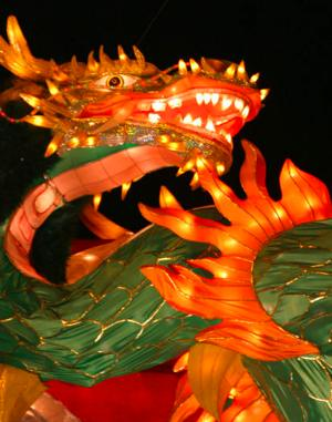 Chinese dragon by Chamomile via Morguefile