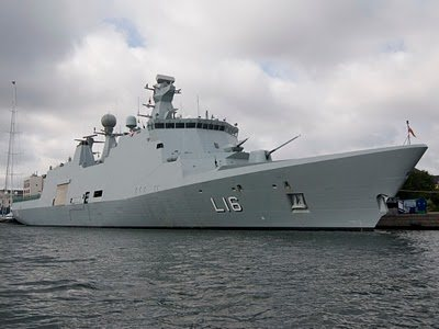 Danish Naval ship, Absalon - photo by HEB cc