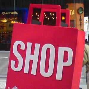 Shopping bag pink londoninflames Flickr