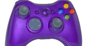Xbox controller in purple
