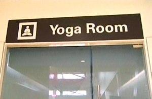 Yoga room SF airport