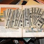 $3000 found in old book - Susan Smith photo