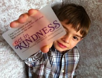 Act In Kindness project in Tillamook, Or