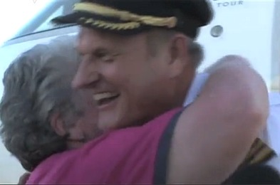 Airline Pilot on mercy dash by Sascha Estens video